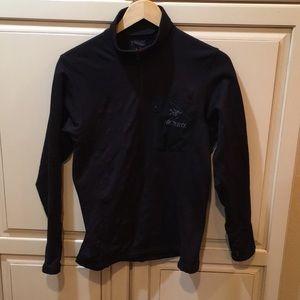 Arc'teryx fleece polartec quarter zip sweatshirt s